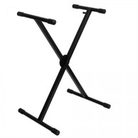 On Stage Pro Heavy-Duty Single-X ERGO-LOK Keyboard Stand