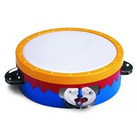 """Hohner 6"""" Multi-Colored Tambourine Description"""