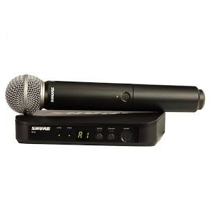 Shure BLX24SM58 Handheld Wireless System With SM58 Microphone