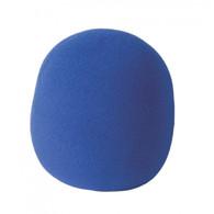 On Stage ASWS58BL Foam Windscreen, Blue