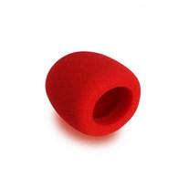 On Stage ASWS58R Foam Windscreen, Red
