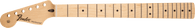 Fender Stratocaster Left-Hand Neck, 21 Medium Jumbo Frets, Maple