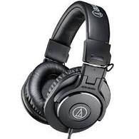Audio Technica Pro Monitor Headphones Professional ATH-M30x Black