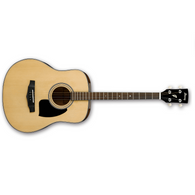 Ibanez Acoustic Performance Guitar Performance Mini Dreadnought Natural