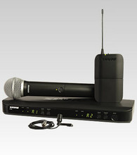 Shure Dual Channel Combo Wireless System