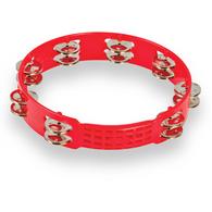 """LP LPA191 10"""" ASPIRE PLASTIC TAMBOURINE - RED"""