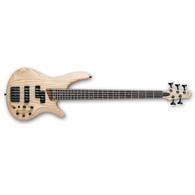 Ibanez SR655NTF SR 5-String Electric Bass, Natural Flat