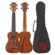 Amahi Rainie SLG-01 Goldfish Solid Mahogany Soprano Ukulele With Carrying Case