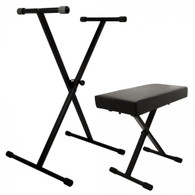 On-StageKPK 6500 Keyboard Stand and Bench Pack
