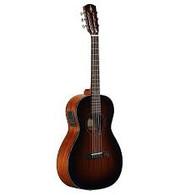 Alvarez AP66ESHB Artist 66 Series Parlor Acoustic Electric Guitar, Shadowburst Finish