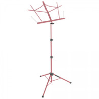 On Stage SM7122PKB Compact Sheet Music Stand (Pink, with Bill's Music Bag)