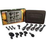 Shure PGA Series Drum Kit 5-Piece Microphone Set w/ Case