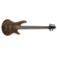 Ibanez GSR205BWNF GSR 5-String Electric Bass, Walnut Flat Finish