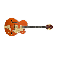Gretsch G6120T Players Edition Nashville Series Hollow Body Electric Guitar w/ Hardshell Case (d)