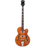 "Gretsch G5440LSB Electromatic Hollow-Body 34"" Long Scale Bass, Orange Finish, Rosewood Fretboard"