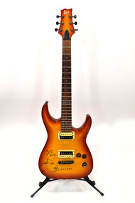 ESP LTD H-101FM Electric Guitar w/ C.C. Deville Autograph