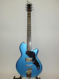 Supro 2010BM Island Series Jamesport Electric Guitar - Ocean Blue Metallic - Previously Owned