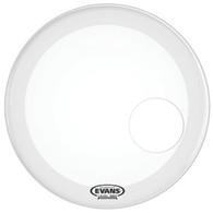 "Evans BD18RGCW EQ3 Coated White 18"" Bass Reso"