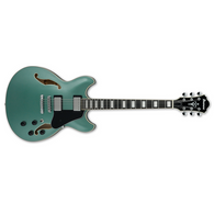 Ibanez Artcore AS73 Electric Guitar, Olive Metallic Finish