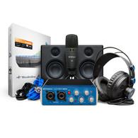 Presonus AudioBox USB 96 Ultimate Bundle: Deluxe Hardware/Software Recording Collection
