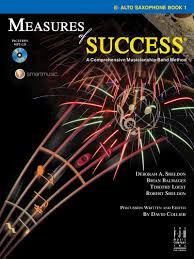 Measures of Success Alto Sax Book 1