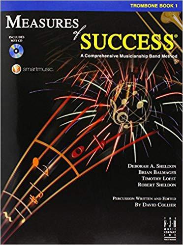 Measures Of Success Trombone Book 1