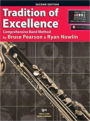 Tradition of Excellence Book 1 - B? Bass Clarinet