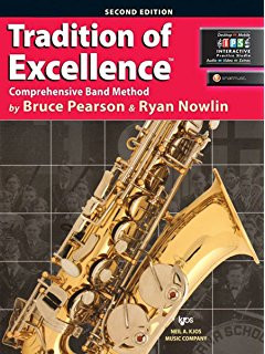Tradition of Excellence Book 1 - B? Tenor Saxophone
