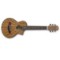 Ibanez EWP14 Piccolo Sized Acoustic Guitar, Open Pore Natural Finish