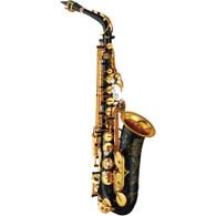 Yamaha YAS-82ZIIB Custom Z Series Eb Black Laquer Alto Saxophone w/ Hardshell Case