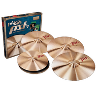 Paiste PST 7 Rock Cymbal Set 14/18/20 + Bonus 16 Cymbal