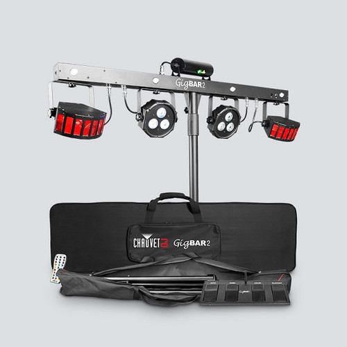 Chauvet GigBAR 2 Ultimate Pack-n-Go 4-in-1 Lighting System