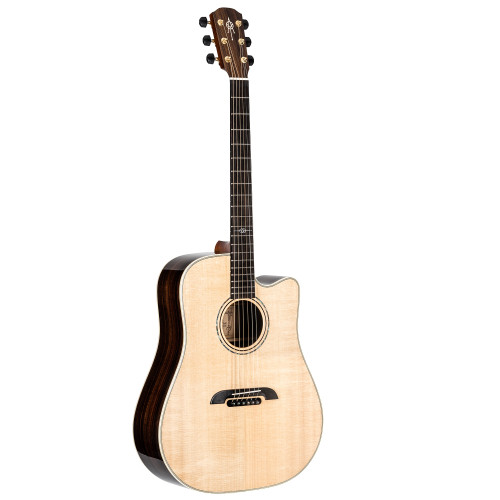 Alvarez DYM70CE Yairi Masterworks Series Dreadnought Acoustic-Electric Guitar, Natural Finish, w/ Alvarez Hardshell Case