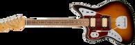 Fender Kurt Cobain Signature Left-Handed Jaguar Electric Guitar, 3-Color Sunburst Finish, Rosewood Fretboard, w/ Fender Black Hardshell Case