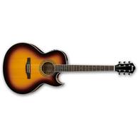 Ibanez JSA5 Joe Satriani Signature Acoustic/Electric Guitar, Vintage High Gloss Sunburst Finish