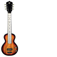 Lap Steel Guitar with P90 Pickup, Sunburst