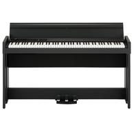 Korg C1 AIR 88-Key Digital Piano with Stand, Black Finish