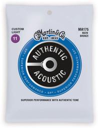 Martin Superior Performance 80/20 Bronze Custom Light Guitar Strings