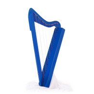 Rees Harps Harpsicle Harp, 26 Strings, Blue Stain Finish, Made in the USA