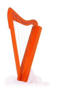 Rees Harps Harpsicle Harp, 26 Strings, Orange Stain Finish, Made in the USA