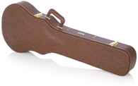 Gator Traditional Brown Wood Case for Les Paul