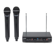 Stage 212 - Frequency-Agile, Dual-Channel Handheld VHF Wireless System