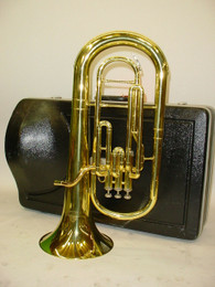 Jupiter Capital Edition CEB-460 3 Valve Baritone Horn with CASE & MOUTHPIECE - Previously Owned