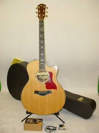 Taylor 816CE Cutaway Acoustic Electric Guitar UPGRADED LR BAGGS M1 ACTIVE PICKUP - Previously Owned