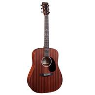 Martin D10E-01 Road Series Dreadnought Acoustic-Electric Guitar Satin Natural w/ Soft Case