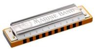 Hohner 3P1896BX Marine Band Harmonica Pro Pack 3