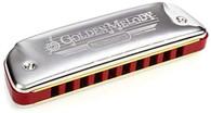 Hohner 542PBXG Golden Melody Diatonic Harmonica, G