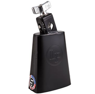 """Latin Percussion LP204AN Black Beauty Cowbell w/ .5"""" Mount"""