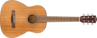 Fender FA-15 Steel String 3/4 Scale Acoustic Guitar - Natural Finish, Walnut Fingerboard with Gigbag