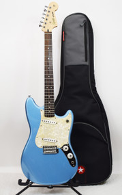 Squier by Fender 2012 Cyclone Electric Guitar with Lake Placid Blue Finish - Previously Owned